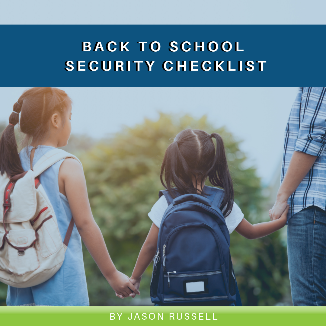 Back to School Security Checklist
