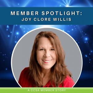 Member Spotlight: Joy Clore Willis