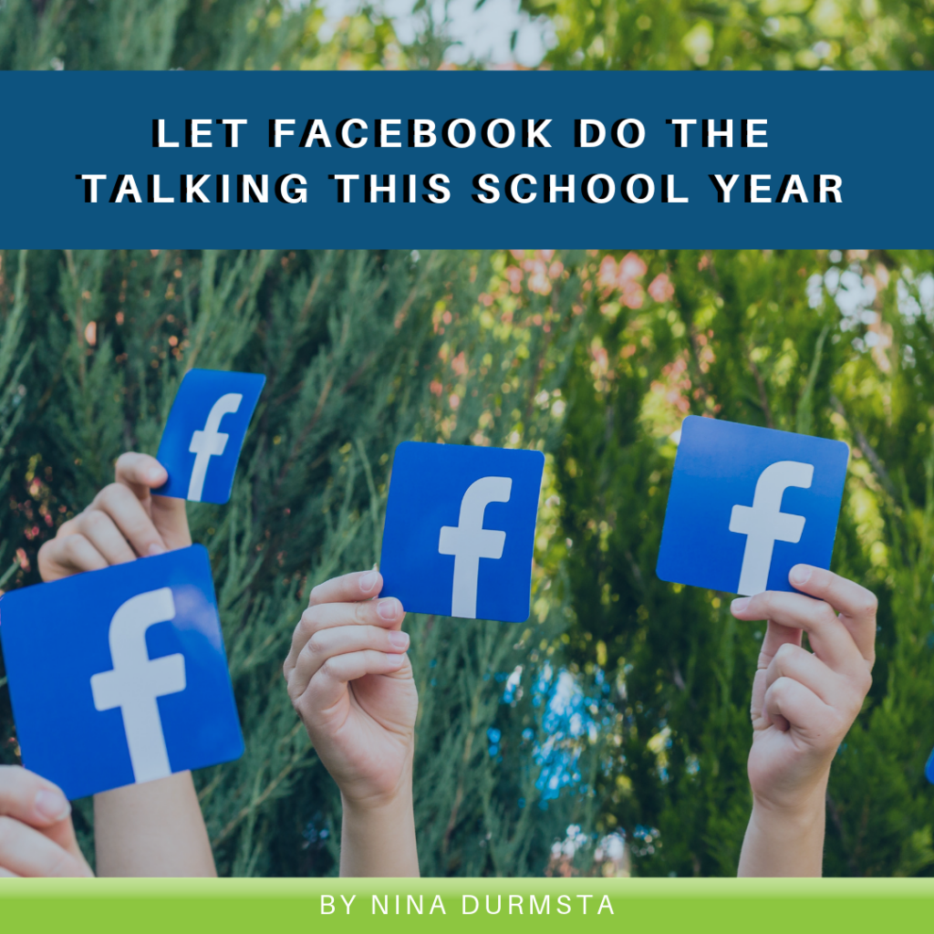 Let Facebook Do the Talking This School Year