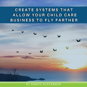 Create Systems that Allow Your Child Care Business To Fly Farther