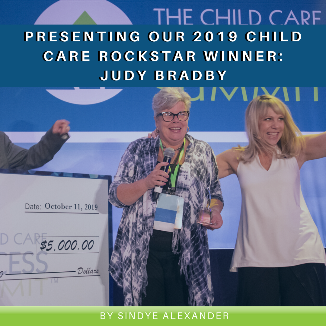 Presenting Our 2019 Child Care Rockstar Winner: Judy Bradby