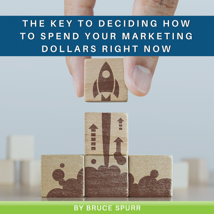 The Key to Deciding How to Spend Your Marketing Dollars Right Now