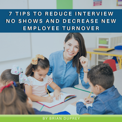 7 Tips to Reduce Interview No Shows and Decrease New Employee Turnover